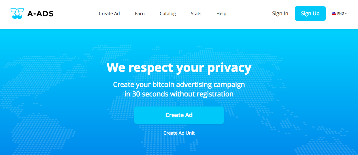Anonymous Ads - We Respect Your Privacy